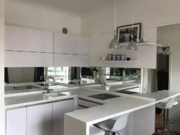 crédence miroir cuisine