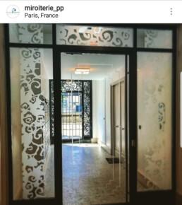 portes vitrées Paris