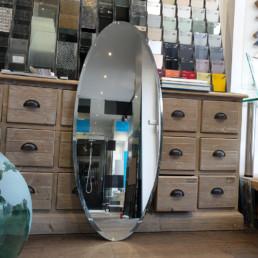 miroir ovale sur-mesure paris