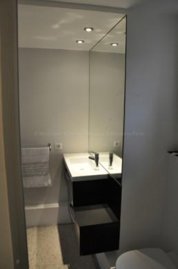 miroir sur-mesure salle de bain