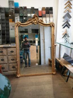 remplacement miroir sur-mesure paris