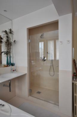 porte douche sur-mesure paris