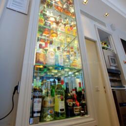 étagère en verre sur-mesure