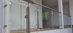 garde-corps en verre paris